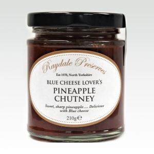 Blue Cheese Lover's Pineapple Chutney