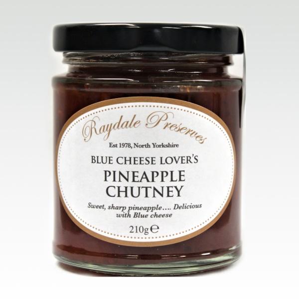 Blue Cheese Lover's Pineapple Chutney