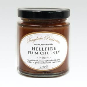 Hellfire & Plum Chutney
