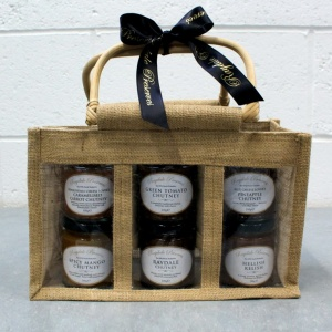 Raydale Preserves Large Hessian Gift Bag